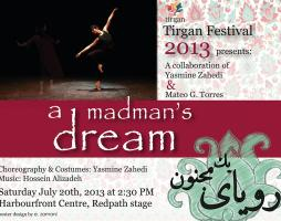 Iranian Folk and Traditional Dance with a Modern Approach